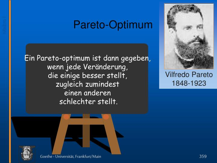 Pareto-Optimum
