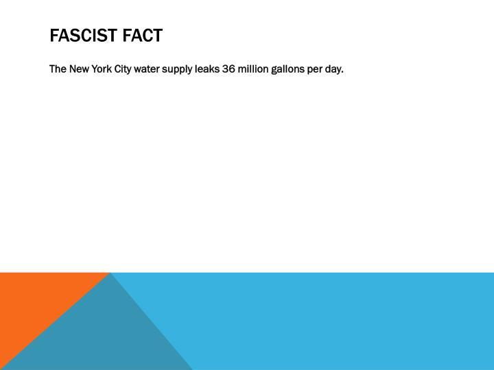 FASCIST FACT