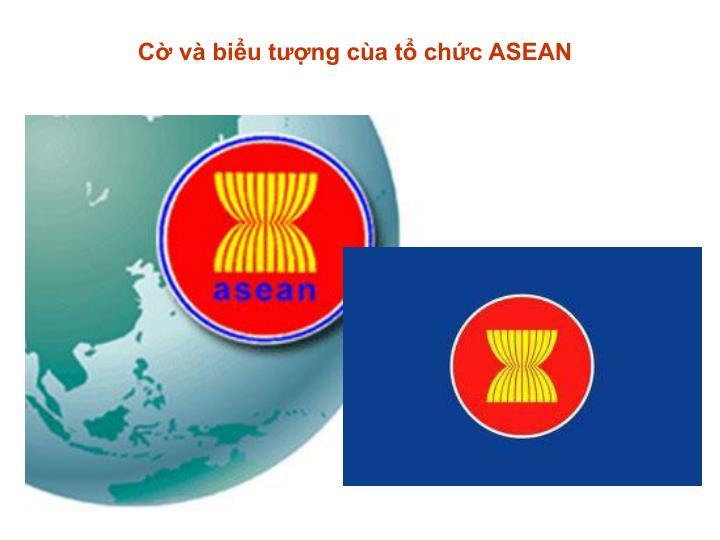 Cờ và biểu tượng cùa tổ chức ASEAN