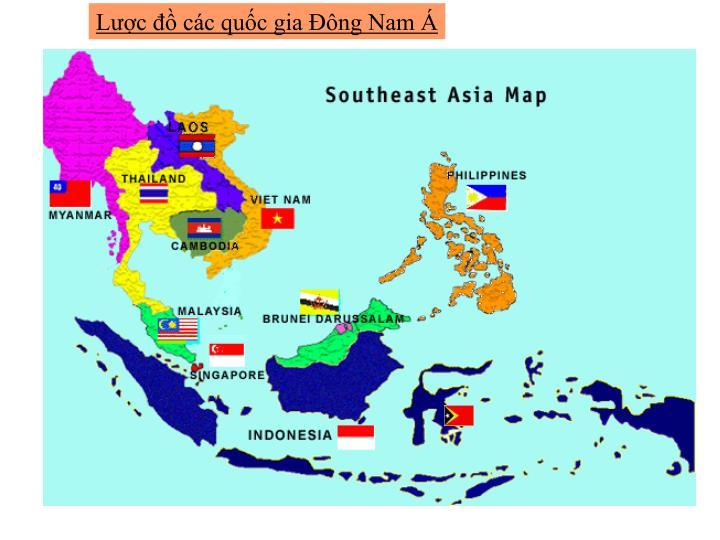 Lược đồ các quốc gia Đông Nam Á