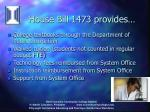 house bill 1473 provides