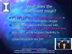 what does the amendment mean