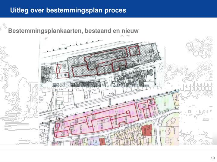 Uitleg over bestemmingsplan proces