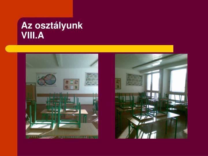 Az osztályunk
