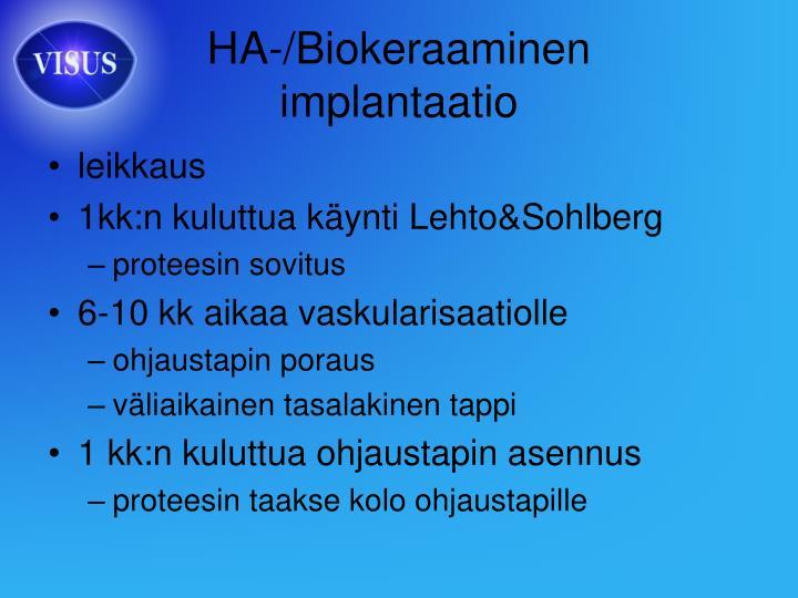 HA-/Biokeraaminen