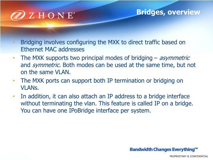 Bridges, overview