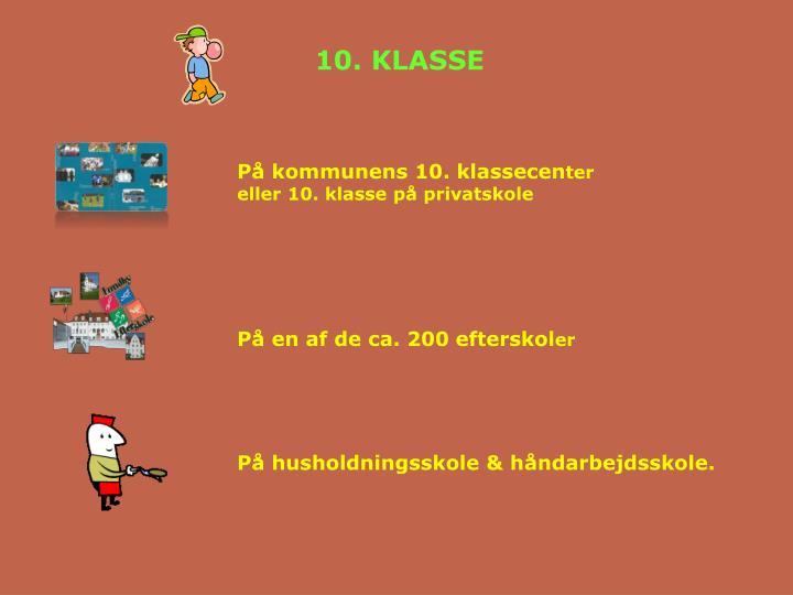 10. KLASSE
