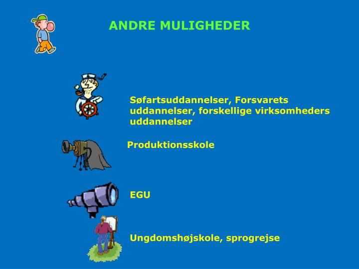 ANDRE MULIGHEDER