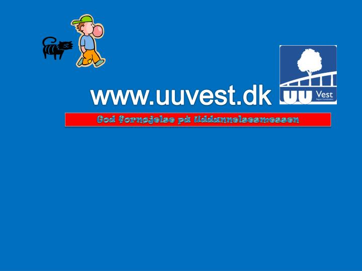 www.uuvest.dk