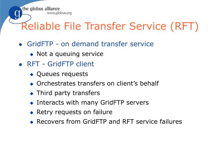 Reliable File Transfer Service (