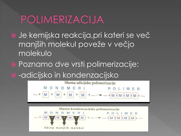POLIMERIZACIJA