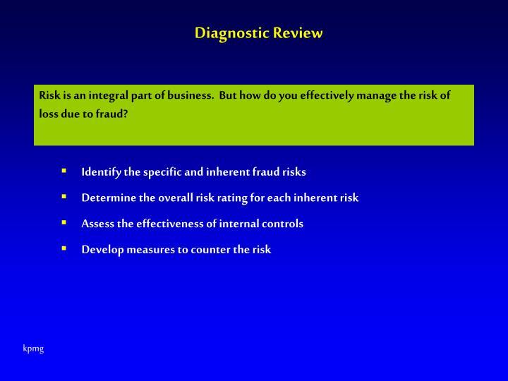 Diagnostic Review