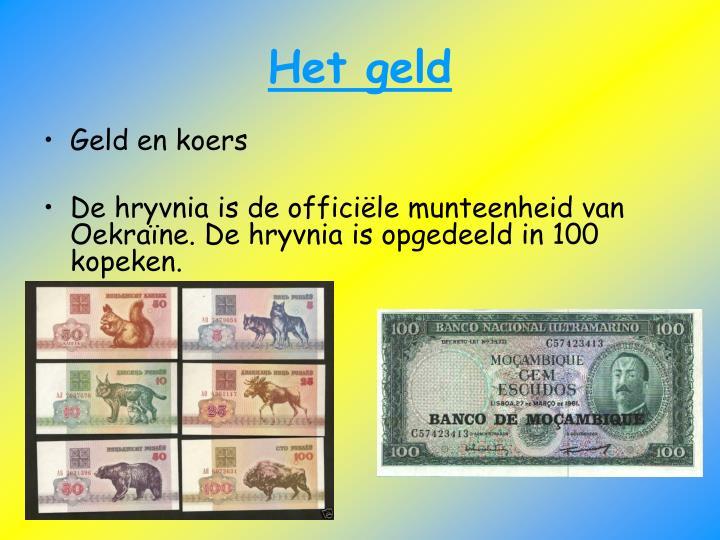 Het geld