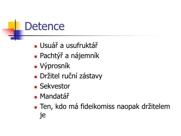 Detence
