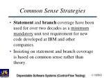 common sense strategies