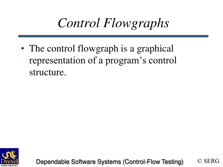 Control Flowgraphs