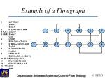 example of a flowgraph