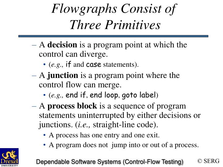 Flowgraphs Consist of