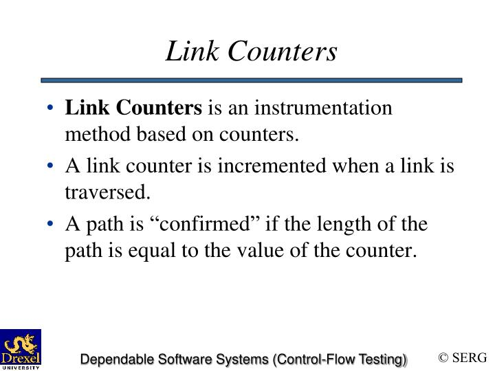 Link Counters