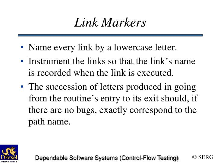 Link Markers