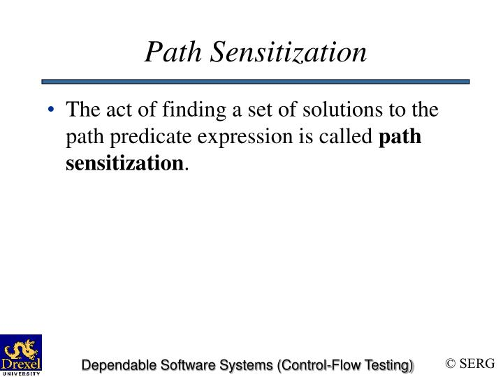 Path Sensitization