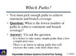 which paths