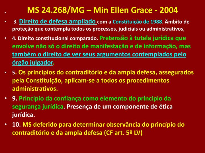 MS 24.268/MG – Min Ellen Grace - 2004