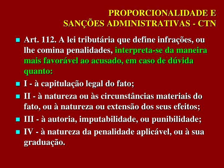 PROPORCIONALIDADE E