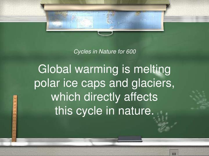Cycles in Nature for 600