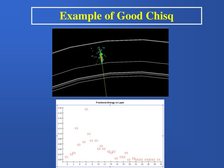 Example of Good Chisq