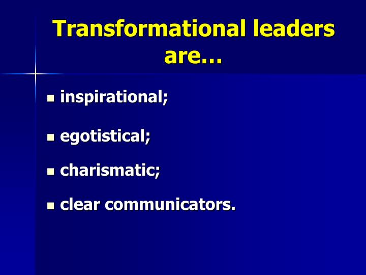 transformational educational leadership This feature is not available right now please try again later.