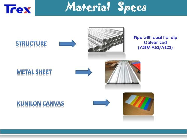 Material   Specs