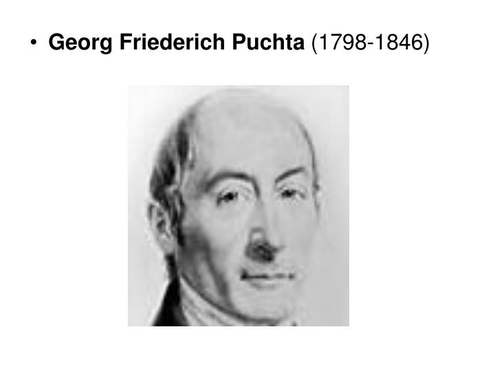 Georg Friederich Puchta