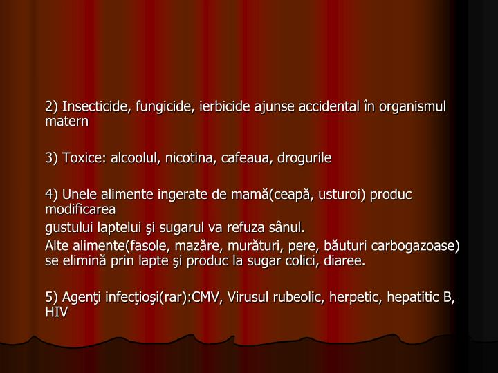 2) Insecticide,
