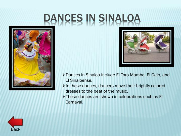 Dances in Sinaloa