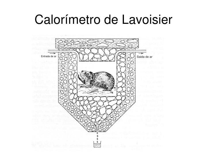 Calorímetro de Lavoisier