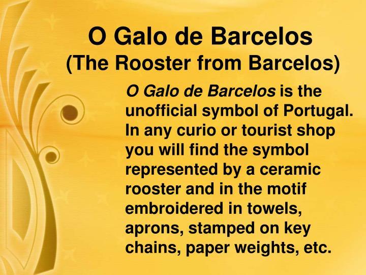 O Galo de Barcelos