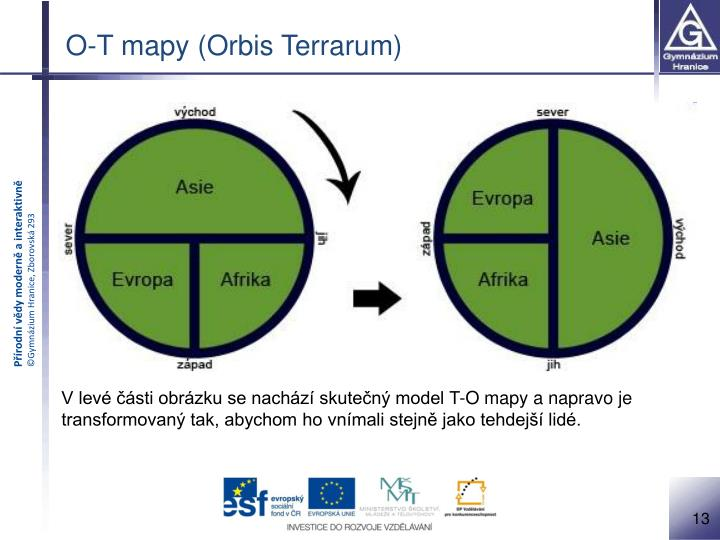 O-T mapy (Orbis Terrarum)