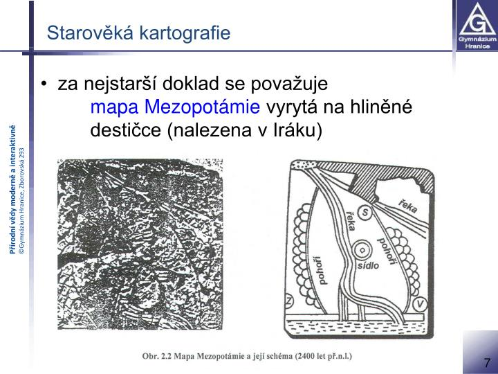 Starověká kartografie
