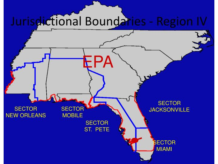 Jurisdictional Boundaries - Region IV