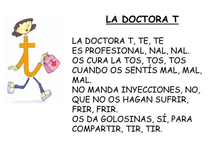 LA DOCTORA T