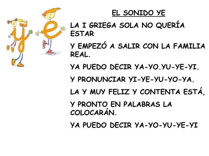EL SONIDO YE