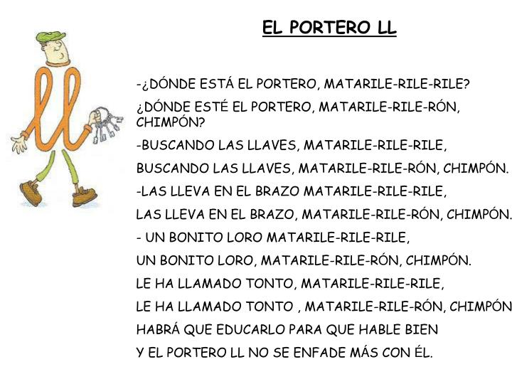 EL PORTERO LL
