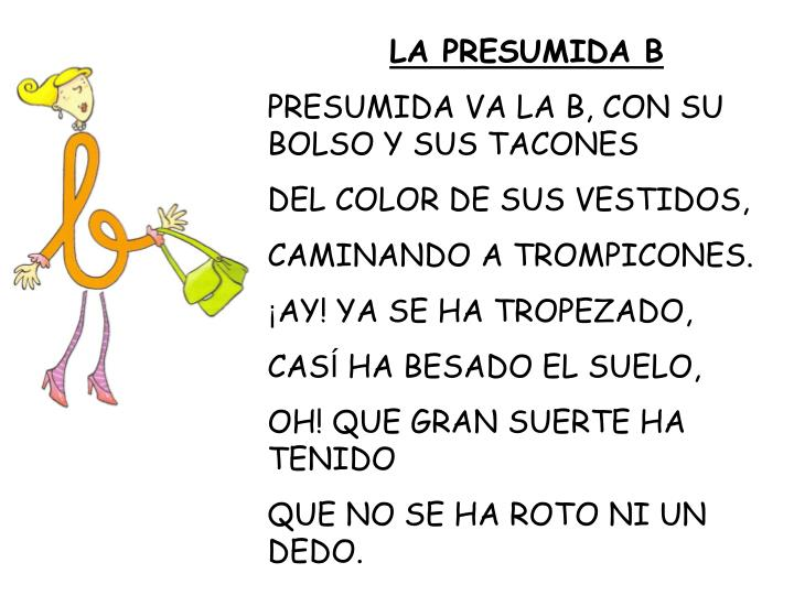 LA PRESUMIDA B