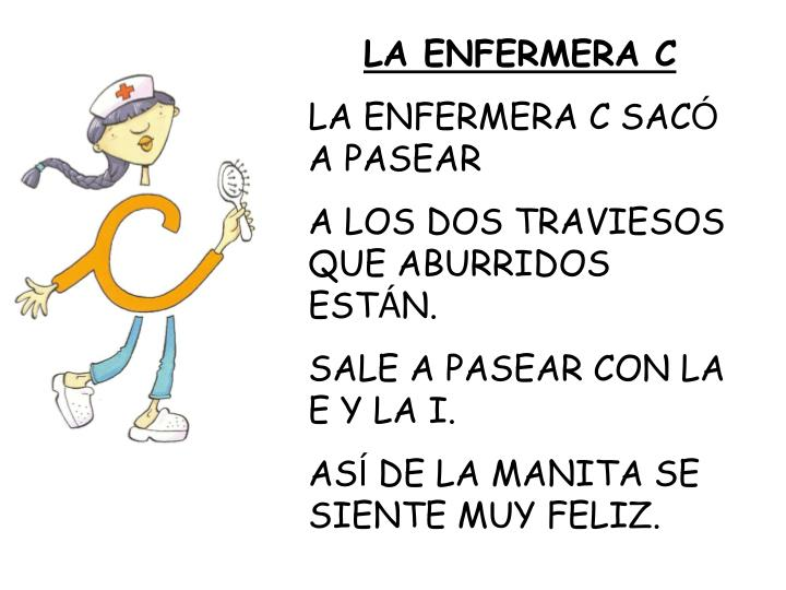 LA ENFERMERA C