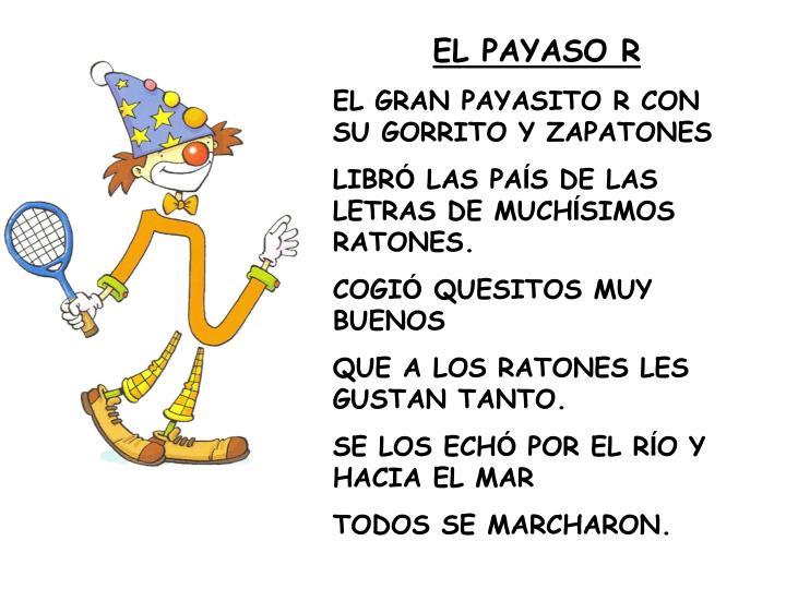 EL PAYASO R