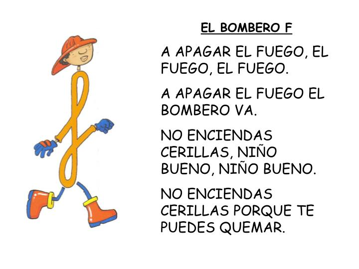 EL BOMBERO F