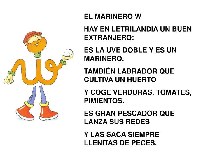 EL MARINERO W