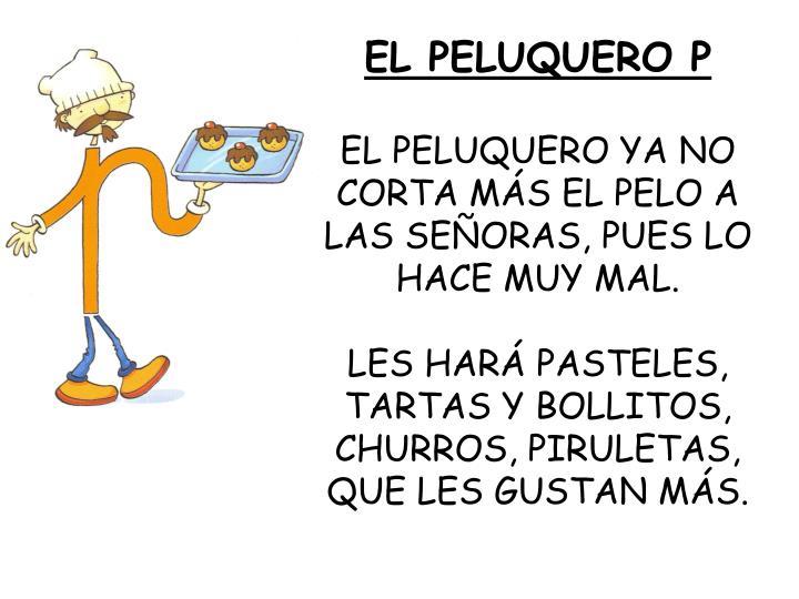 EL PELUQUERO P