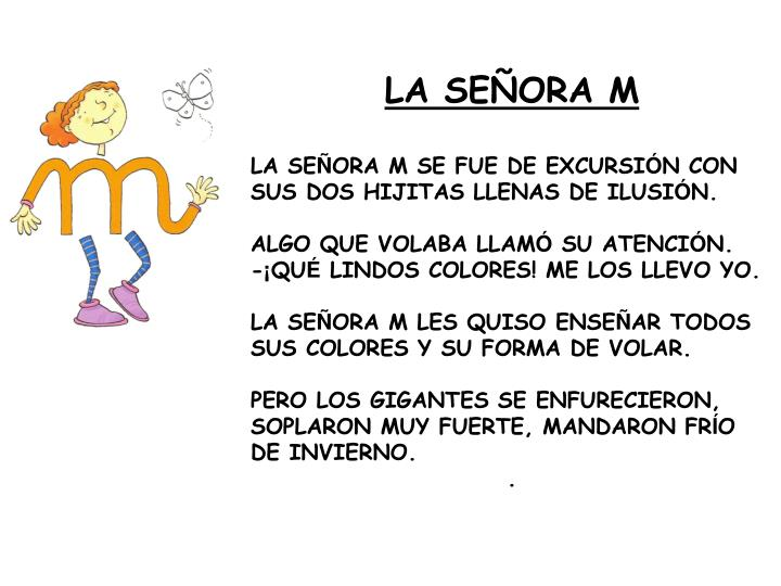 LA SEÑORA M